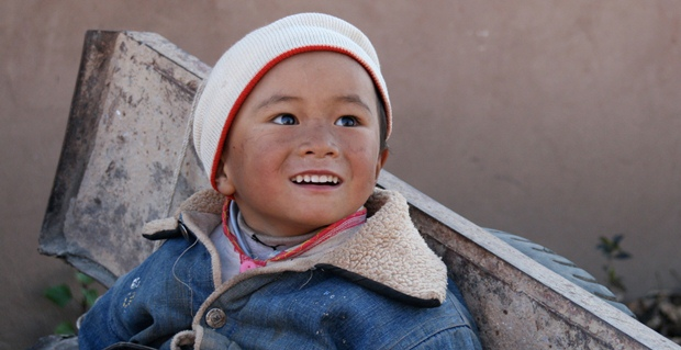 A child in China. Source: Ashley Leonard, all rights reserved.