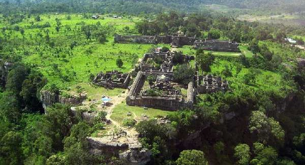 Hindu temple complex Preah Vihear is located near the border between Cambodia and Thailand. The ICJ heard arguments about nearby disputed territory this week.