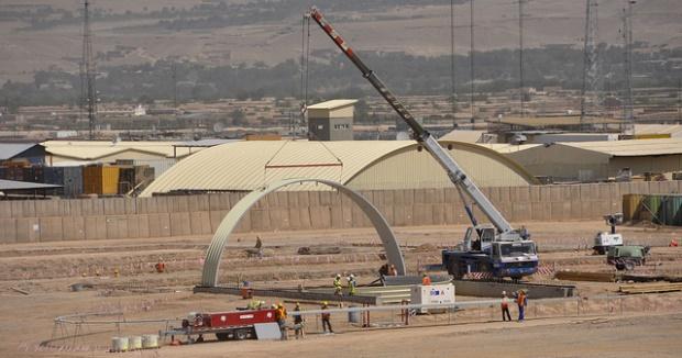 Arch-span construction near Tarin Kowt