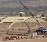 Arch-span construction near Tarin Kowt, Afghanistan