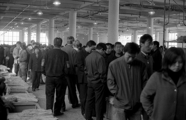 Workers arrive in Bozhou City, in Anhui, China. Rapid urbanization has created complex challenges for China's leadership. Source: Daniel Gorecki's flickr photostream, used under a creative commons license.