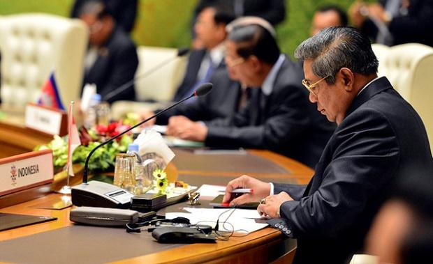 ASEAN officials meet in April 2013