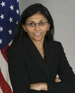 Ms. Nisha Biswal. Source: U.S. Government Work.