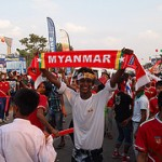 Myanmar Football Team. 2013 SEA Games.