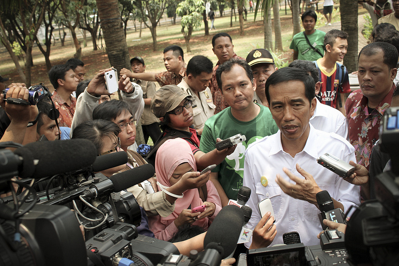 "Joko ""Jokowi"" Widodo, if elected, will face many challenges governing in Indonesia. Source: Eduardo M.C.'s flickr photostream, used under a creative commons license."