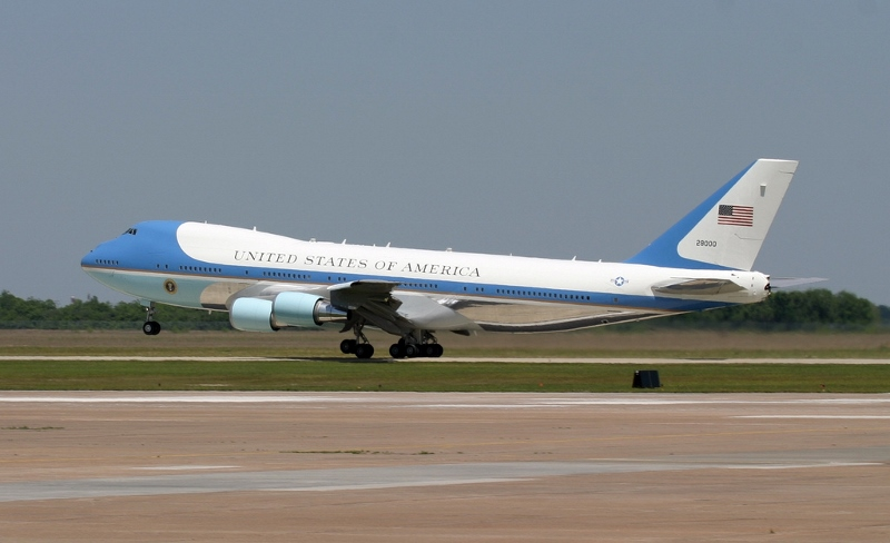 Air Force One. President Obama currently has a visit to Malaysia on the itinerary for his April trip to Asia.