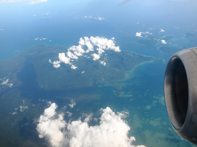 Aerial view of Indonesia's Greater Natuna Islands  in the South China Sea. Source: stratman's flickr photostream, used under a creative commons license.