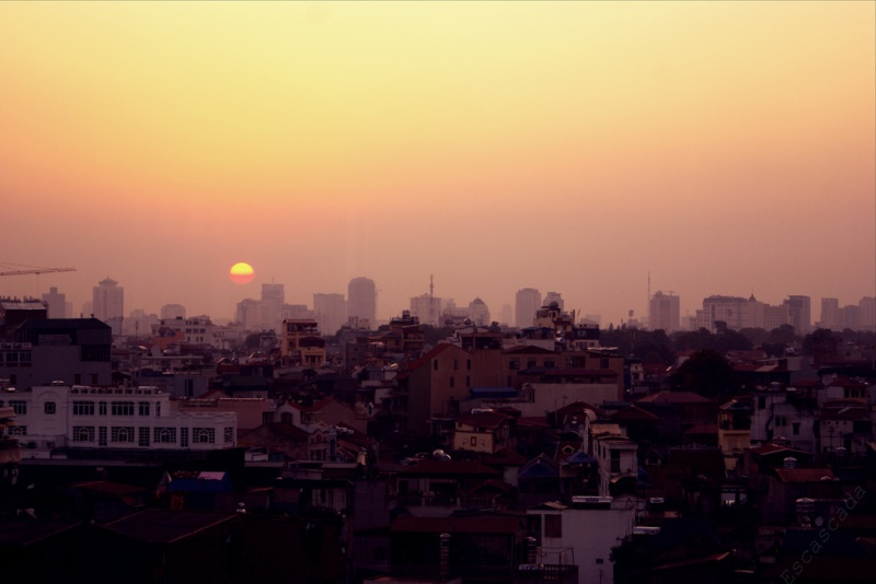 Dawn over Hanoi, Vietnam. Source: Yenstefanie's flickr photostream, used under a creative commons license.