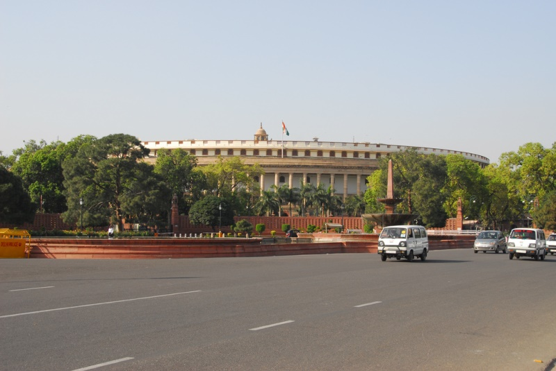 Parliament of India. Source: Lord of the Wings flickr photostream, used under a creative commons license.