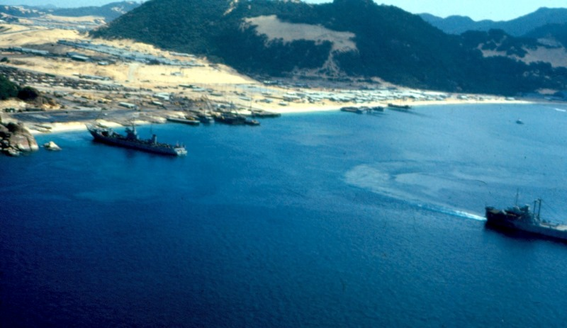 Camh Ranh Bay, 1969. Source: JeriSisco's flickr photostream, used under a creative commons license.