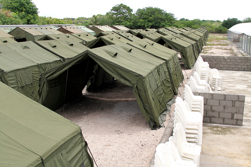 Nauru offshore Australian processing facility for refugees being re-located to Cambodia. Source: DIPB images, used under a creative commons license.