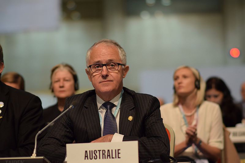 Malcolm Turnbull, shown here attending the ITU Plenipotentiary, is now Australia's prime minister. Source: Veni Markovski's flickr photostream, used under a creative commons license.